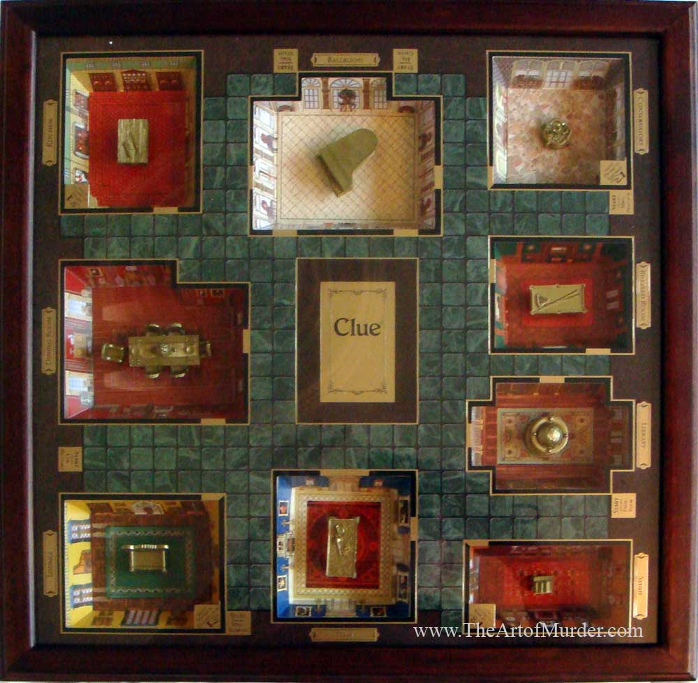 The Game Of Clue Rooms